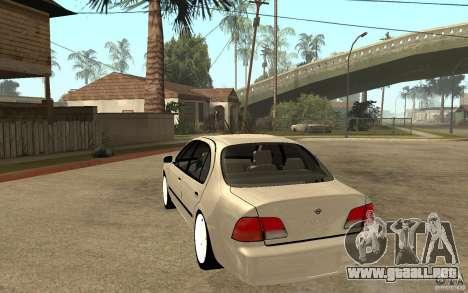 Nissan Maxima 1998 para GTA San Andreas vista posterior izquierda