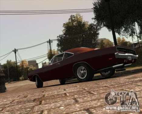 Dodge  Charger 1969 para GTA 4 vista desde abajo