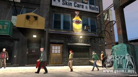 Break on Through beta MOD para GTA 4 adelante de pantalla