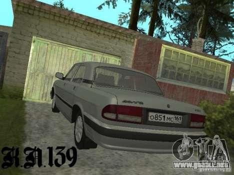 GAZ 3110 beta 0.1 para GTA San Andreas left