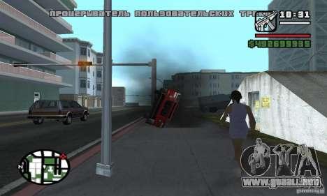 Arreglar el Auto para GTA San Andreas tercera pantalla