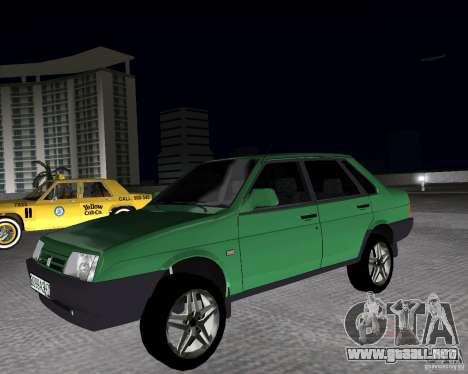 Vaz 21099 luz sintonizado para GTA Vice City