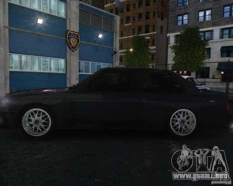BMW M3 E30 para GTA 4 vista superior