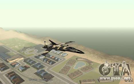 Su-32 Golden Eagle para GTA San Andreas left