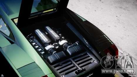 Lamborghini Gallardo para GTA 4 vista lateral