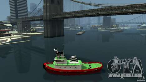 TUG Texture and Handling para GTA 4 left