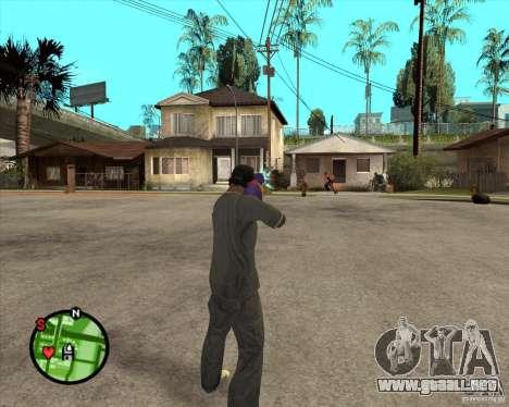 Pistola de agua para GTA San Andreas segunda pantalla