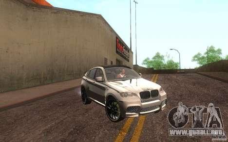 Bmw X6 M Lumma Tuning para GTA San Andreas left