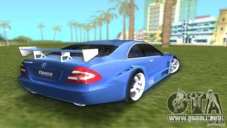 Mercedes-Benz CLK500 C209 para GTA Vice City vista lateral izquierdo
