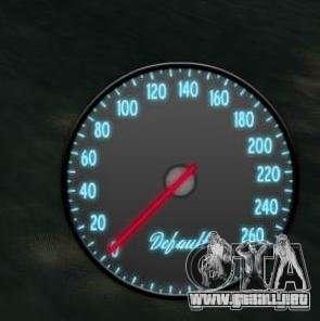 Velocímetro IV (piel 3) para GTA 4 segundos de pantalla