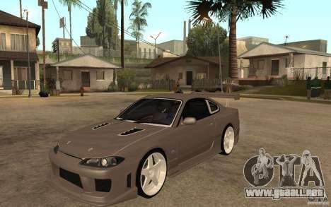 Nissan Silvia S15 JC2 Tuning para GTA San Andreas