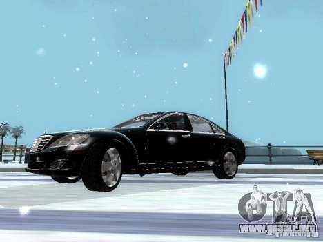 Mercedes-Benz S600 para visión interna GTA San Andreas
