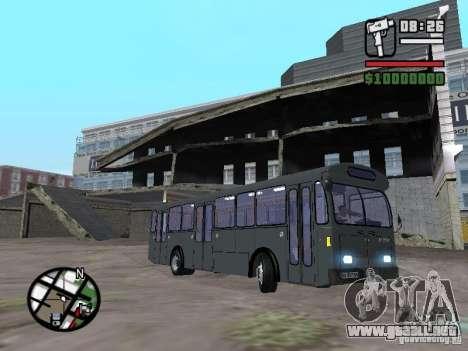 FBW Hess 91U para GTA San Andreas left