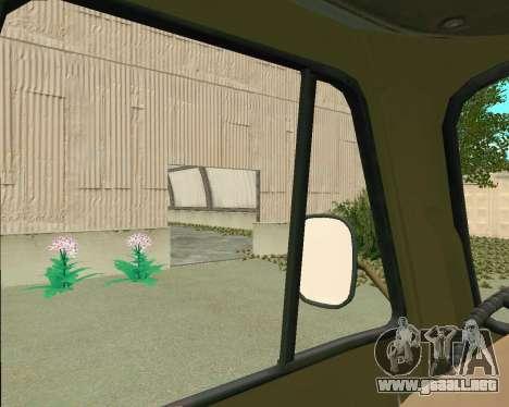 3303 UAZ para visión interna GTA San Andreas