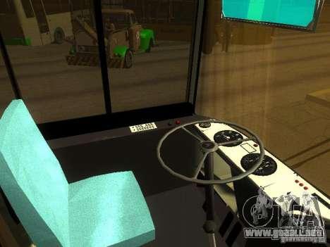 LAZ 525270 para visión interna GTA San Andreas