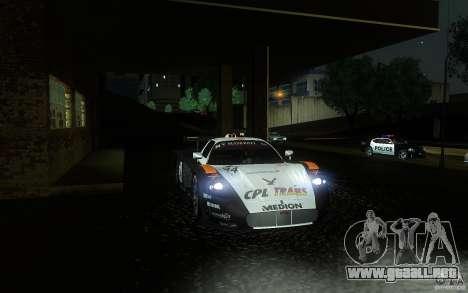 Maserati MC12 GT1 para la vista superior GTA San Andreas