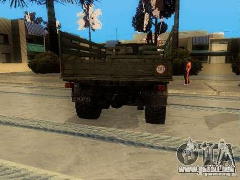 ZIL 4334 mayor permeabilidad para la visión correcta GTA San Andreas