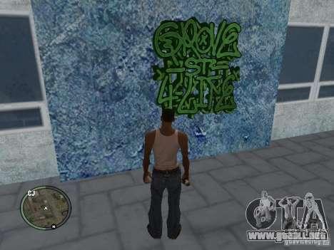 My Gang Tags para GTA San Andreas quinta pantalla