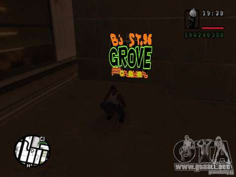 Nuevas bandas de graffiti para GTA San Andreas sexta pantalla