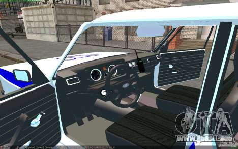 Vaz 2105 PPP Zhiguli para GTA San Andreas left