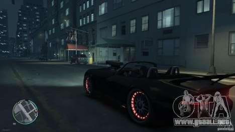 Red Neon  Banshee para GTA 4 visión correcta