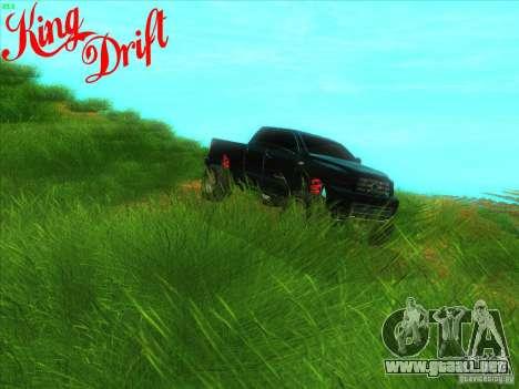Toyota Tundra OFF Road Tuning para visión interna GTA San Andreas