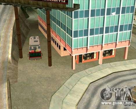 Los vehículos estacionados v2.0 para GTA San Andreas tercera pantalla