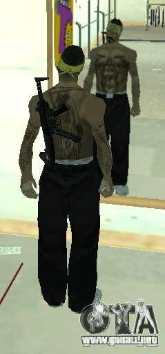 Vagos Gang Skins para GTA San Andreas
