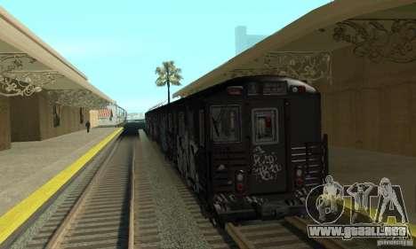 GTA IV Enterable Train para GTA San Andreas left