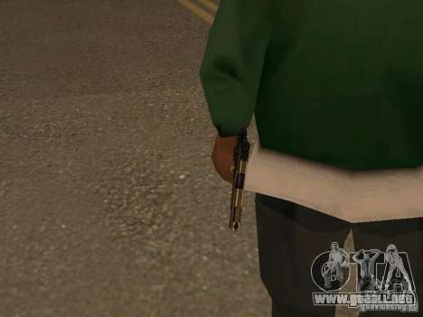 Pistola 9 mm para GTA San Andreas tercera pantalla