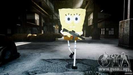 Bob esponja para GTA 4 novena de pantalla