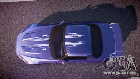 Honda S2000 2002 Tuning 2 calma la piel para GTA 4 visión correcta