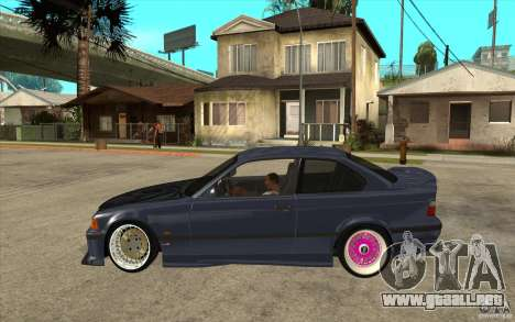 BMW E36 M3 Street Drift Edition para GTA San Andreas left