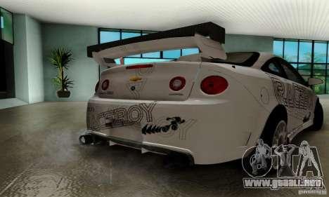 Chevrolet Cobalt SS para GTA San Andreas interior