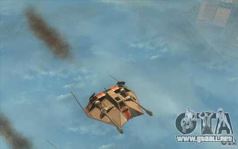 T-47 Snowspeeder para GTA San Andreas left