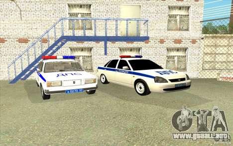 Samara LADA 2170 DPS para visión interna GTA San Andreas