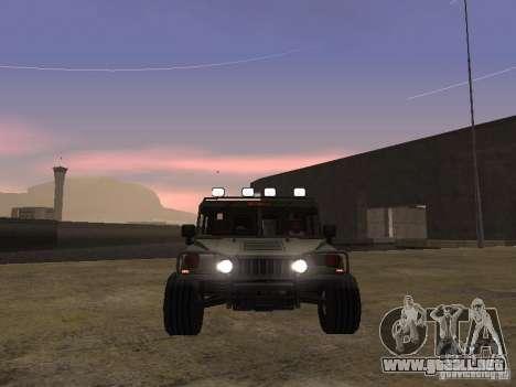 Hummer H1 para GTA San Andreas left
