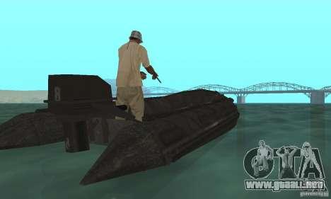 Barco de Cod mw 2 para GTA San Andreas left
