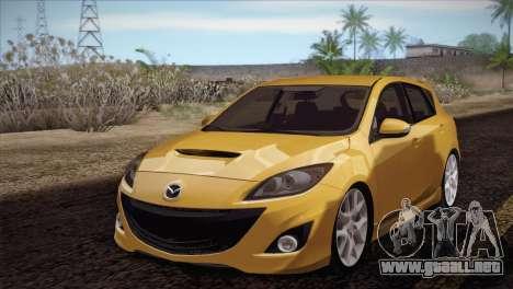 Mazda Mazdaspeed3 2010 para GTA San Andreas