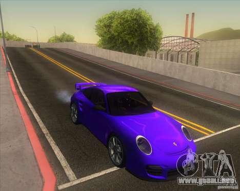 Porsche 911 GT2 (997) para visión interna GTA San Andreas