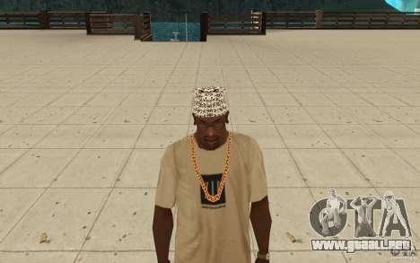 Letras de Bandana kitay para GTA San Andreas