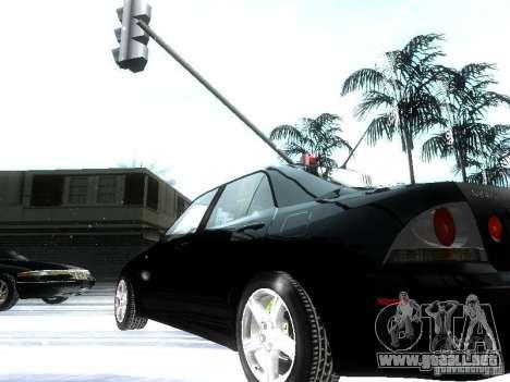 Lexus IS300 para vista inferior GTA San Andreas