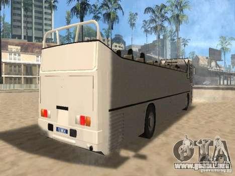 IKARUS 250 convertible para la visión correcta GTA San Andreas
