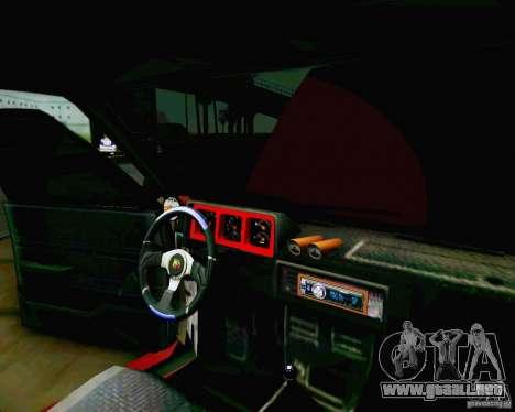 Tofas Dogan SLX DRIFT para la visión correcta GTA San Andreas