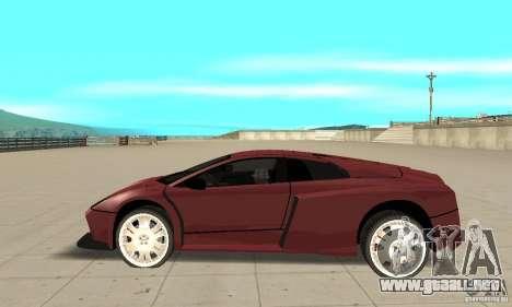 Lamborghini Murcielago Tuned para GTA San Andreas left