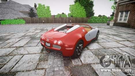 Bugatti Veyron Grand Sport [EPM] 2009 para GTA 4 vista lateral