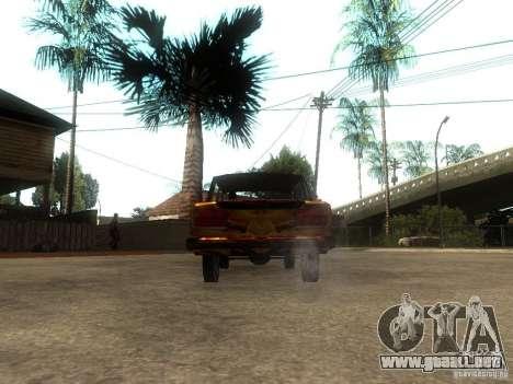 2106 VAZ del juego S.T.A.L.K.E.R. para GTA San Andreas vista posterior izquierda