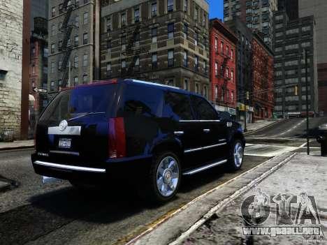 Cadillac Escalade v3 para GTA 4 visión correcta
