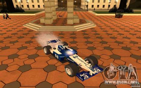 BMW F1 Williams para GTA San Andreas
