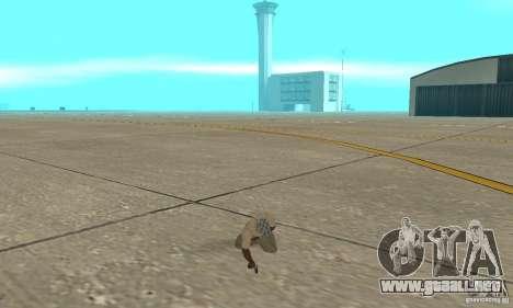 Actdead para GTA San Andreas tercera pantalla